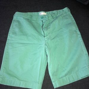 Light green JCREW men's shorts